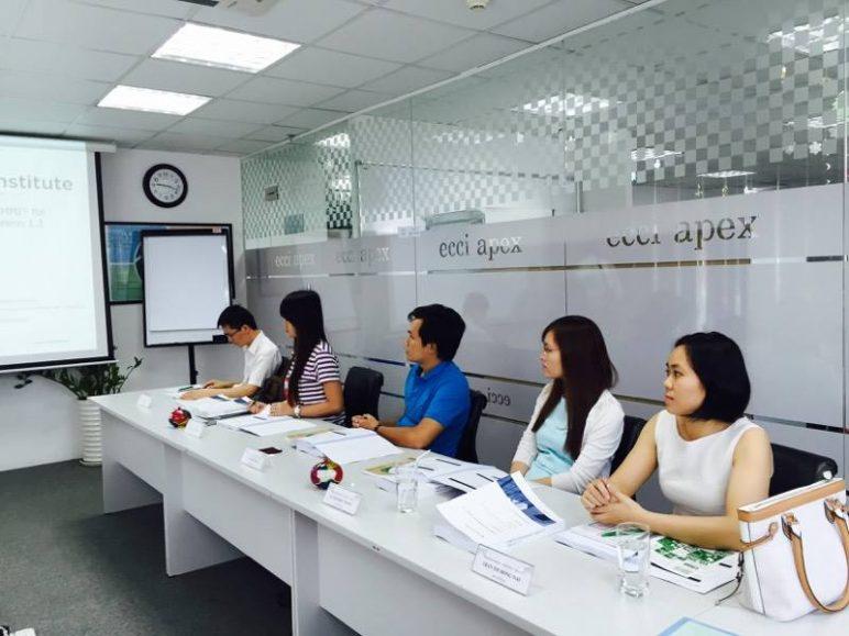 Khóa học Quản lý dự án chuyên nghiệp – PMP tại doanh nghiệp của ECCI Việt Nam