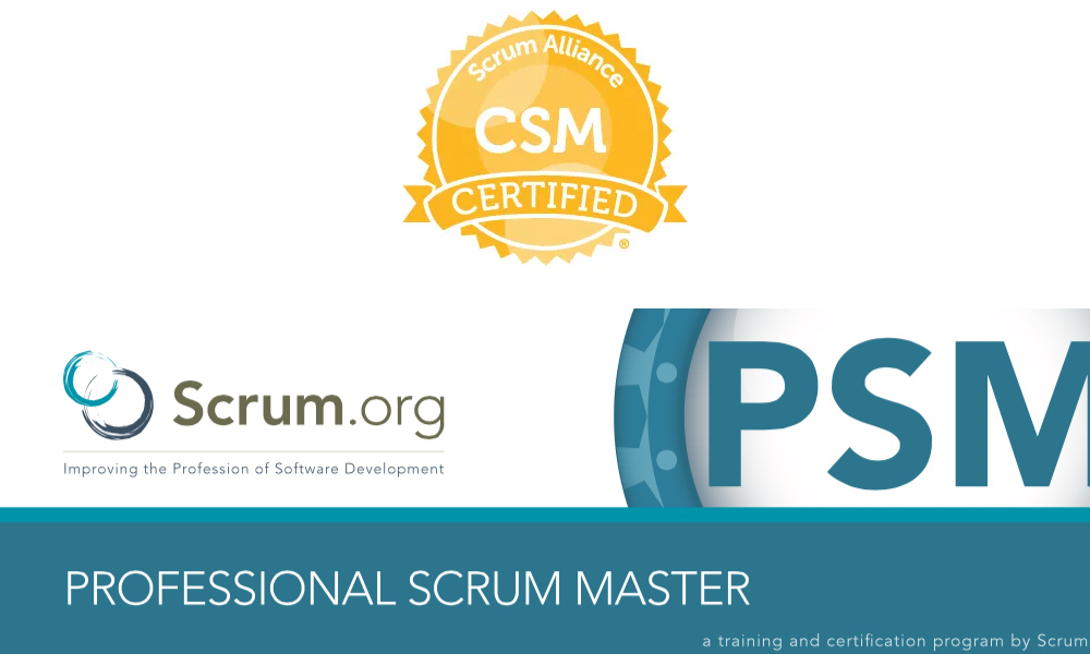 Nên chọn Chứng chỉ CSM hay PSM