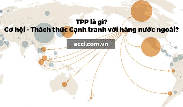TPP là gì? Cơ hội - Thách thức Cạnh tranh với hàng nước ngoài?