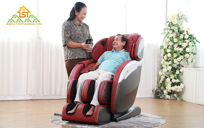 Lợi ích sức khỏe mà ghế massage