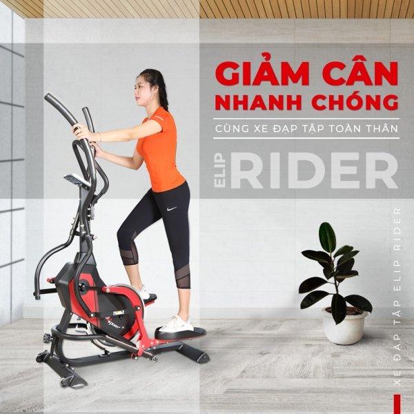 Những tính năng của xe đạp tập ELIP Rider