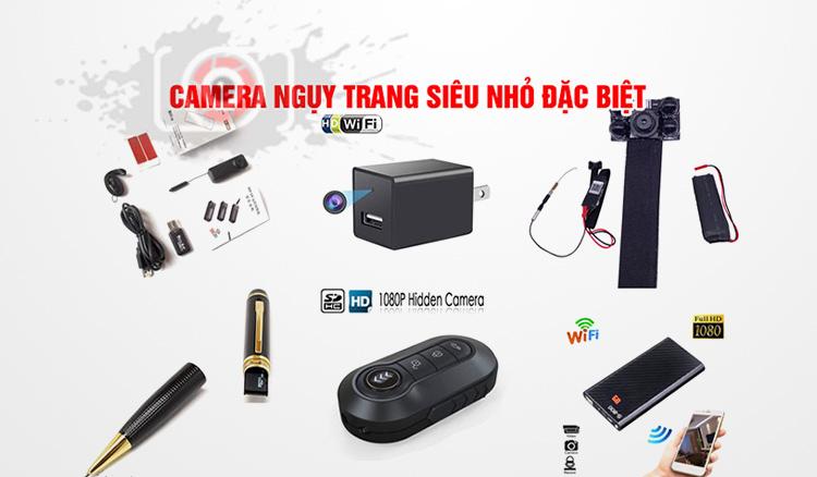 Camera ngụy trang móc khóa có những loại nào?