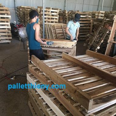xưởng sản xuất pallet gỗ rẻ nhất
