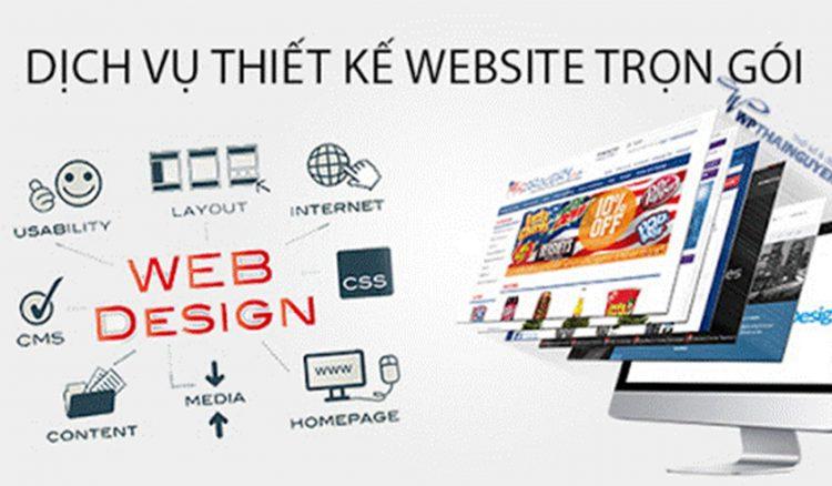 Website để quảng cáo sản phẩm và thương hiệu