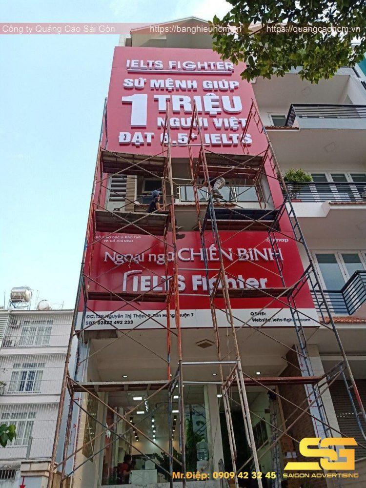 Giới thiệu dịch vụ làm bảng hiệu của Quảng Cáo Sài Gòn