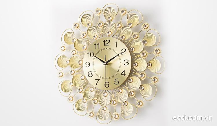 Ưu điểm của đồng hồ treo tường decor Tạo điểm nhấn không gian phòng bạn dùng trang trí