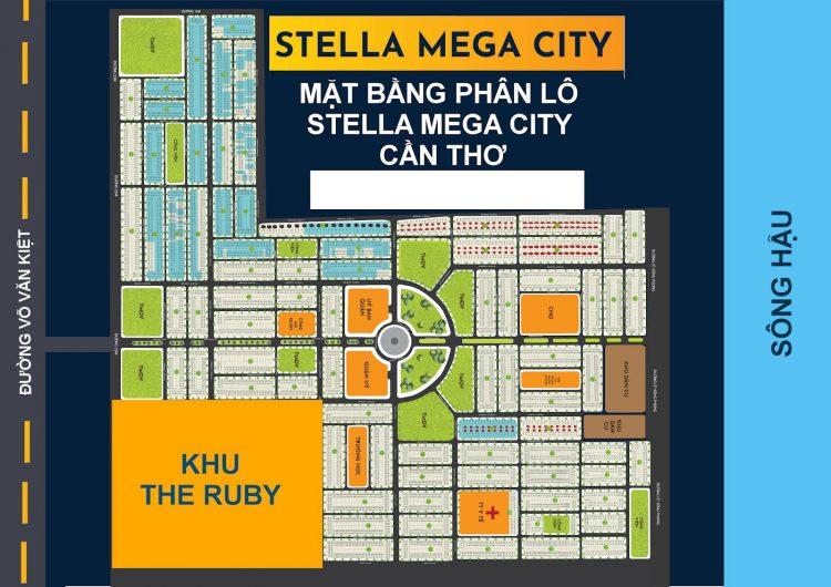 Quy mô tổng thể của khu đô thị Stella Mega City