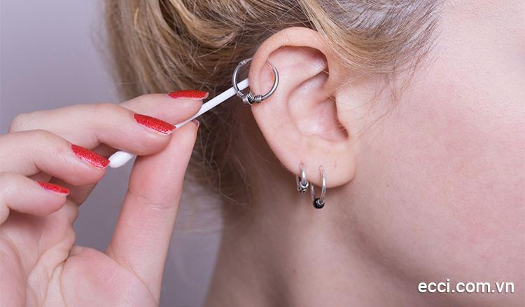 Những lưu ý cần biết sau khi thực hiện bấm lỗ tai