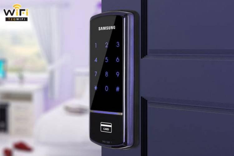 Chọn mẫu khóa điện tử phù hợp với thiết kế của cánh cửa