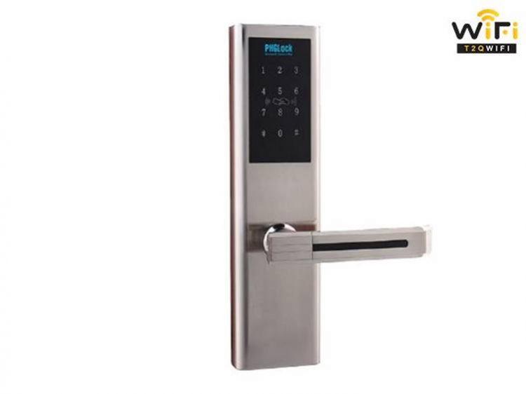 Gợi ý các mẫu khóa điện tử an toàn đang được ưa chuộng tại T2QWIFI