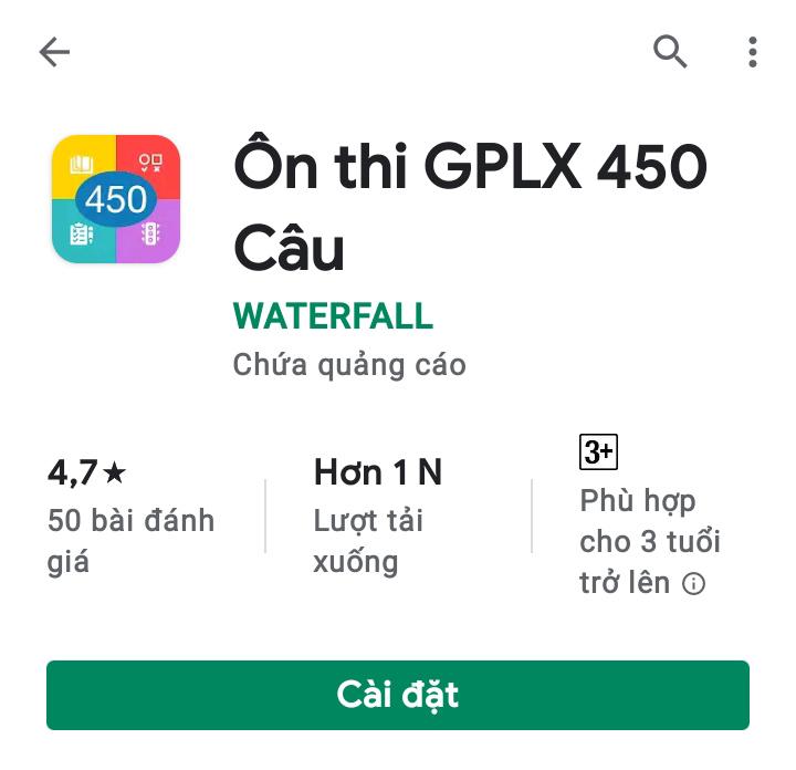 Ứng dụng phần mềm trên thiết bị HĐH Android
