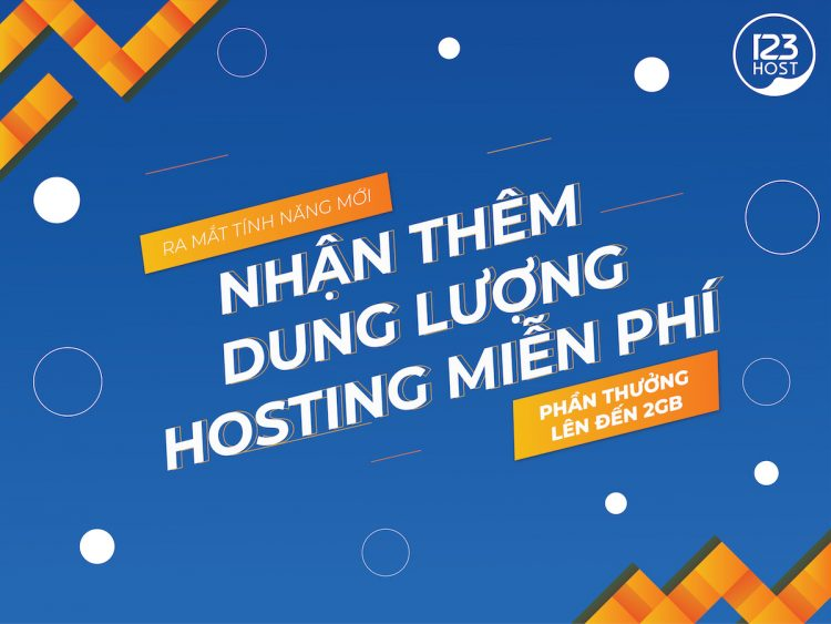 Hosting của 123hosti.vn giá rẻ cho sinh viên