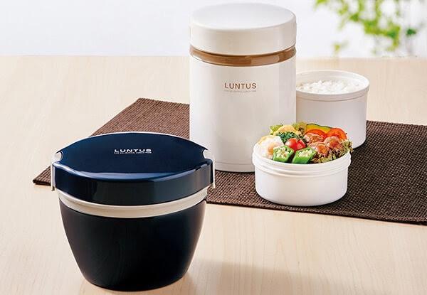 Hộp cơm giữ nhiệt Nhật Bản Luntus Cafe
