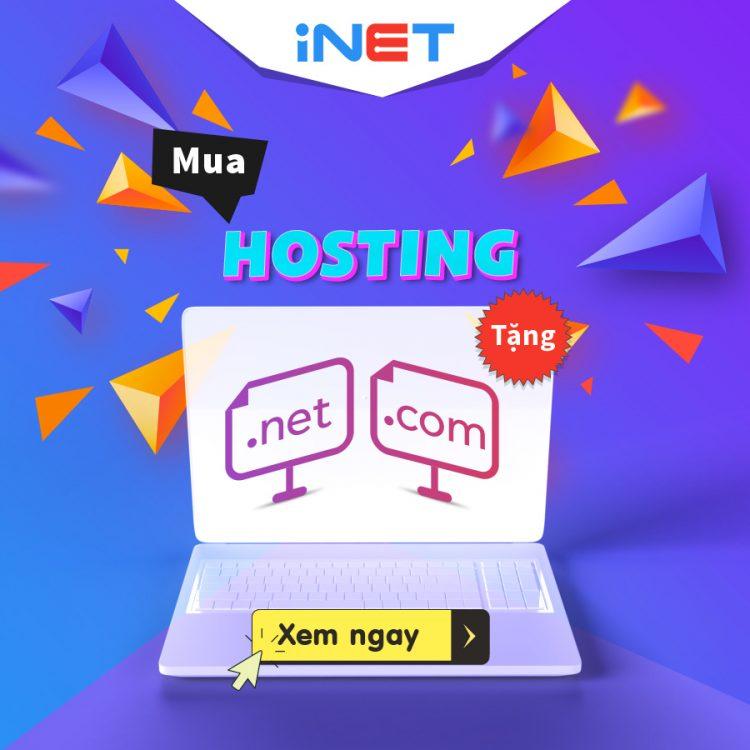 Hosting của Inet với băng thông không giới hạn