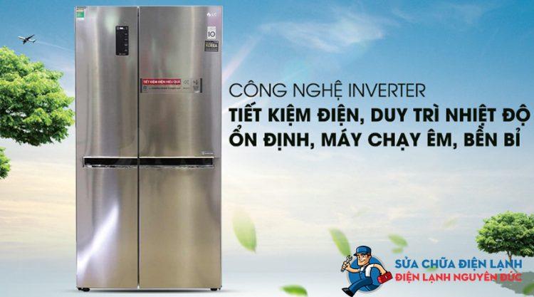 Tủ lạnh SBS LG Inverter 626 lít GR-B247JS