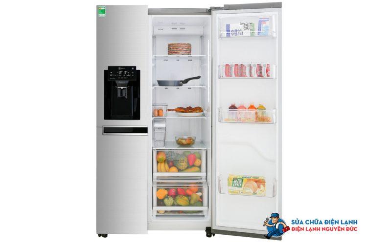 Tủ lạnh Side by Side SBS LG Inverter 601 lít GR-D247JDS