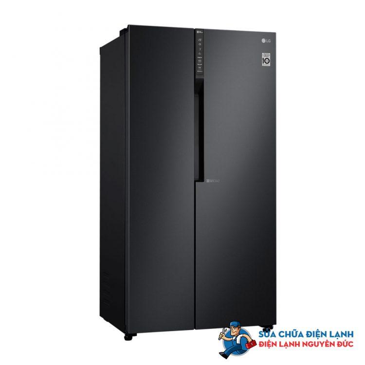 Tủ lạnh SBS LG Inverter 613 lít GR-B247WB