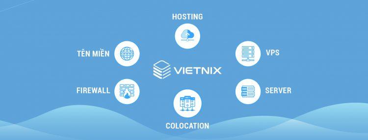 Các sản phẩm và dịch vụ của Vietnix