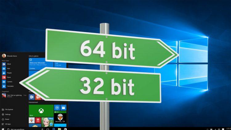 Chú ý kiểm tra cấu hình máy trước khi tải 32 bit hay 64 bit