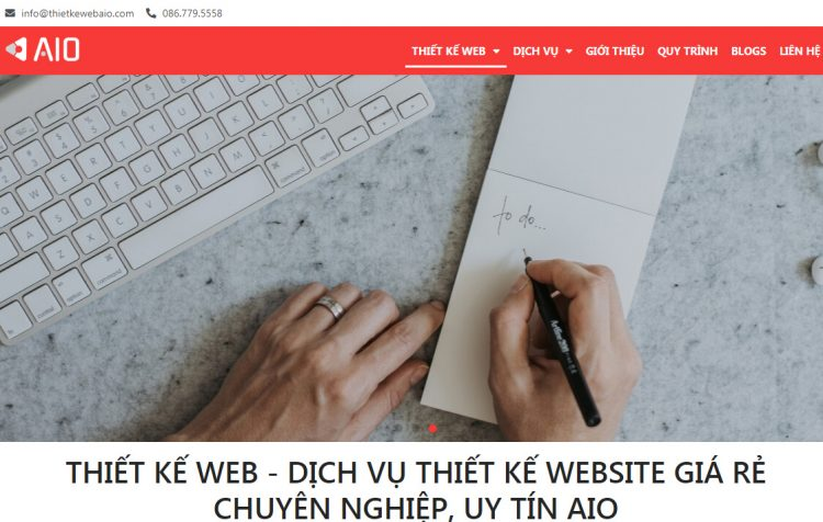 Công ty thiết kế website AIO